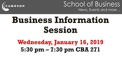 Business Information Session